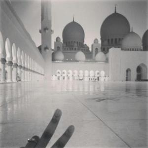 Grand Zayed Mosque Feb.  2013